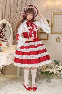 エリザベスジャンパースカート